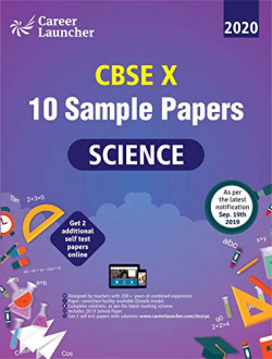 CBSE 2020 : Class X - 10 Sample papers - Science