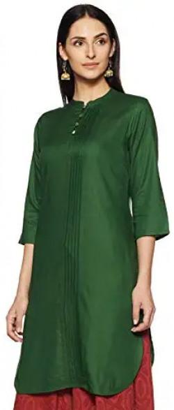ABOF Women's cotton straight Kurta min 50%