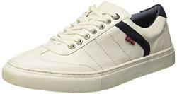 Levi's Men's Indi Exclusive Regular White Sneakers-7 UK (40.5 EU) (8 US) (38099-1638)
