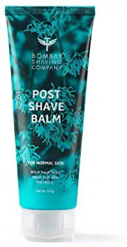 Bombay Shaving Company Post-Shave Balm After Shave with Witch Hazel, Alcohol Free - 100 g
