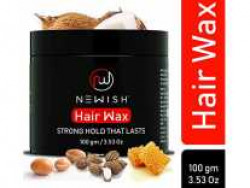 Newish Natural Hair Wax for Men Stylish Restyling and Matte Texture Clay, 100g Rs.149 @ Amazon