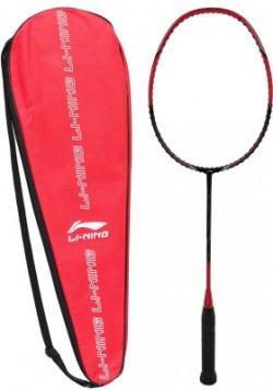 Li-Ning GF-2800i Green, Red, Black Unstrung Badminton Racquet(Pack of: 1, 83 g)