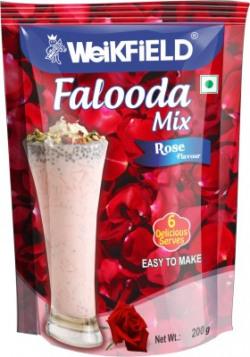 Weikfield Falooda Mix Rose 200 g@75rs