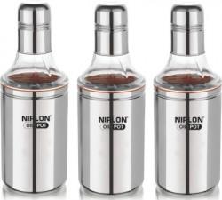 NIRLON 1000 ml, 1000 ml, 1000 ml Cooking Oil Dispenser Set(Pack of 3)