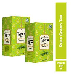 Typhoo Green Tea, 25 Tea Bags (Pack of 2)