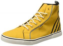 Flying Machine Men's Mckinley Yellow Boots-11 UK/India (45 EU) (2551806718)