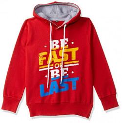 T2F Boys' Sweatshirt (BYS-SS-05_Multicolor_3-4 Years)