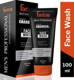 Fantraa Activated Charcoal  Face Wash(100 ml)