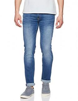Lee Men's Andrew Skinny Fit Jeans (8907222675844_L179292481KE038033_38W x 33L_Blue)