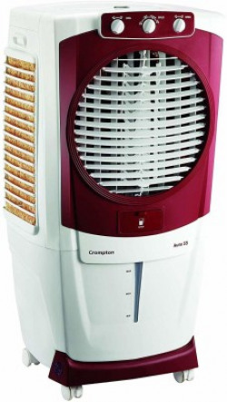 Crompton 90 L Desert Air Cooler(WHITE, RED, AURA 90)