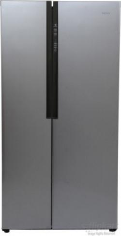 Haier 565 L Frost Free Side by Side (2019) Refrigerator(Silver, HRF-619SS)