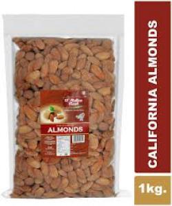 D'nature Fresh California Almonds Raw 1kg