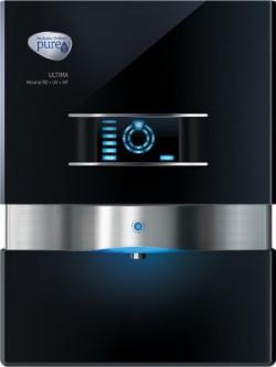 Pureit by HUL ULTIMA MINERAL 10 L RO + UV + MF Water Purifier(Black)