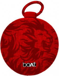 boAt Stone 260 KXIP Edition 4 W Bluetooth Speaker  (Lion Red, Mono Channel)