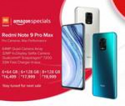 Redmi note 9 pro Max sale on 27th may 12 noon