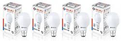Bajaj Base B22 12-Watt LED Bulb (Pack of 4, White) Rs. 698 - Amazon