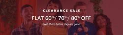 Amazon Fashion Clearance Sale: Flat 60-80% Off