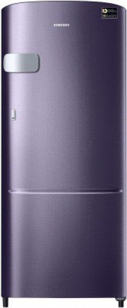 Samsung 192 L Direct Cool Single Door 4 Star (2020) Refrigerator(Pebble Blue, RR20T1Y2XUT/HL)
