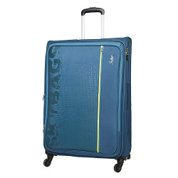 Skybags Fabric 580 mm Blue Softsided Cabin Luggage (STZILWH58OBL)