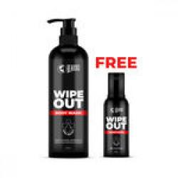 Beardo Wipeout Bodywash & 1 Wipeout sanitizer (Free)