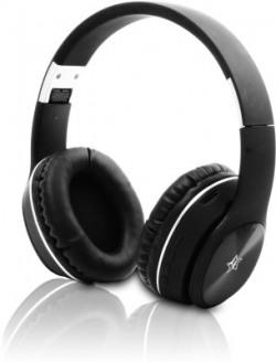 Flipkart SmartBuy TM-058 Bluetooth Headset(Black, Wireless over the head)