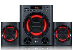 LG LK72B Boom Blastic 40 Watt 2.1 Channel USB Multimedia Speaker (Black)