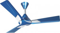 Orient Electric Wendy 1200 mm 3 Blade Ceiling Fan(Azure Blue Silver, Pack of 1)