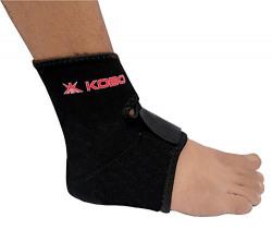 KOBO Neoprene Ankle Adjustable Support