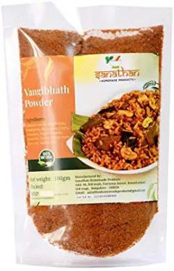 Sanathan Homemade Products Natural and Fresh Vangi Bhath Powder, 100 g