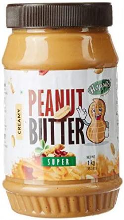 Happilo Super Crunchy Peanut Butter, 1kg