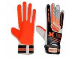 Vector X Gripflex Goalkeeping Gloves (White, Black, Orange) at Rs. 105 @ Amazon