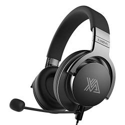 Xanova Juturna Gaming Headset with Bass Adjustment (Gray)