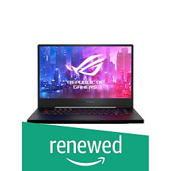 (Renewed) ASUS ROG Zephyrus M GU502GU-ES003T 15.6-inch FHD 144Hz Gaming Laptop (9th Gen Core i7-9750H/16GB RAM/512GB PCIe SSD/Windows 10/6GB NVIDIA GeForce GTX 1660 Ti Graphics/1.93 Kg), Black