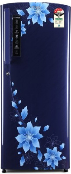 Marq By Flipkart 190 L Direct Cool Single Door 4 Star (2020) Refrigerator(Bliss Blue, 190DD5SMQBP-HDA)