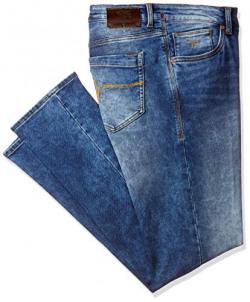 Flying Machine Men's Skinny Jeans (FMJN8384_Blue_38)