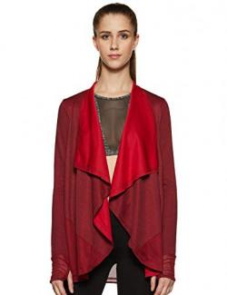 Ajile By Pantaloons Women's Slim Fit Top (110031270001_Maroon_S)