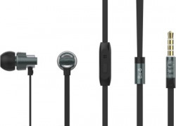 KandP ROSE BX-08 Wired Headset(Black, Wired in the ear)