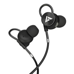 Boult Audio Loupe Wired Headphones with Carry