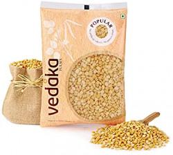 Amazon Brand - Vedaka Popular Chana Dal, 1 kg 32% off