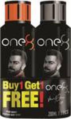 One8 By Virat Kohli One8 Deo Buy1 Get 1 Free combo Perfume Body Spray - For Men