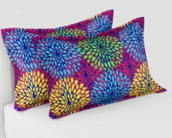 Flipkart SmartBuy Floral Cushions & Pillows Cover(Pack of 2, 42 cm*44 cm, Pink)