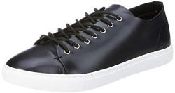 Amazon Brand - Symbol Men's Black Sneakers - 7 UK/India (41 EU)(AZ-SH-22A)
