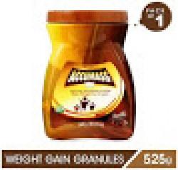 Accumass Weight Gain Powder 525 g, Chocolate Flavor, Pack of 1