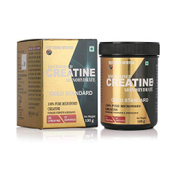 BEST CHOICE NUTRITION Micronised Creatine Monohydrate 100% Pure Gold Standard Creatine (100 g, UNFLAVORED) (pack of 1)