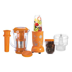 Wonderchef Nutri-Blend Complete Kitchen Machine (CKM) with 3 Jars 400W - Yellow