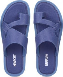 Newport Men Blue Flats