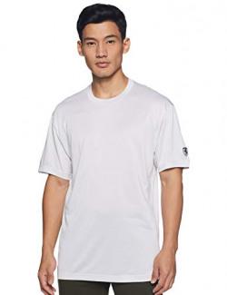 Puma Men's Plain Regular fit T-Shirt (57786303 White Xx-Large)