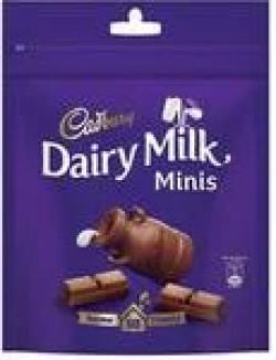 Supermart- Cadbury Dairy Milk Home Treats Chocolate Bars (126 g) 15% OFF