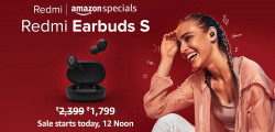 [Live @ 12PM] Redmi Earbuds S Rs. 1799