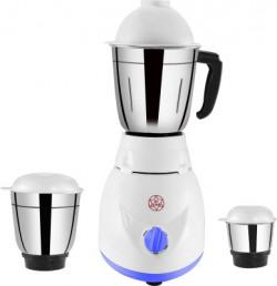mi star mixer grinder juicer MG18H164 550 Mixer Grinder(White, 3 Jars)